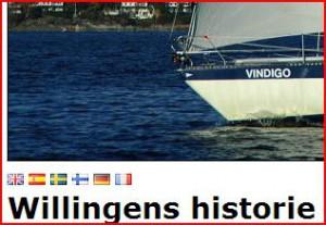 Seilas - Willingens historie