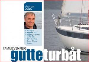Seilmagasinet  Familievennlig Guttebåt