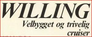 Willing test Seilas 1975