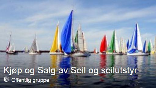Kjøp og salg av seil og seilutstyr